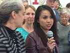 Woman facing deportation takes sanctuary again