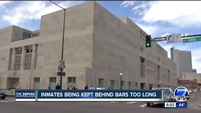 Denver inmates being kept in jail too long- how much is it costing you-