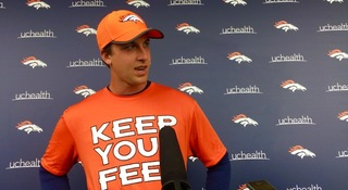 Siemian works with starters on first day of OTAs