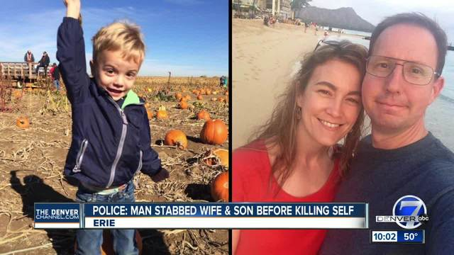 Police say it -appears- Erie man stabbed wife- son to death before…