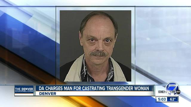 Colorado man accused of castrating transgender woman charged