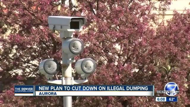 Aurora purchases three moveable cameras to help combat illegal dumping