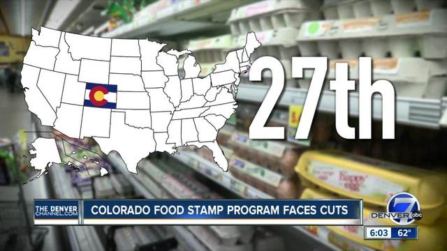 Colorado food stamp program had problems accurately paying in the past