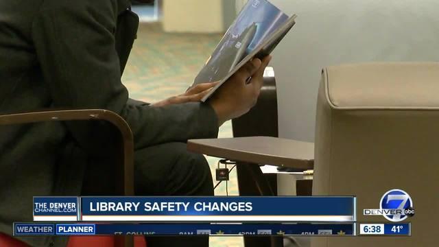 Denver public library announces safety improvements