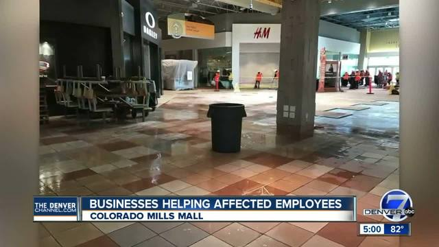 Businesses helping affected Colorado Mills mall employees