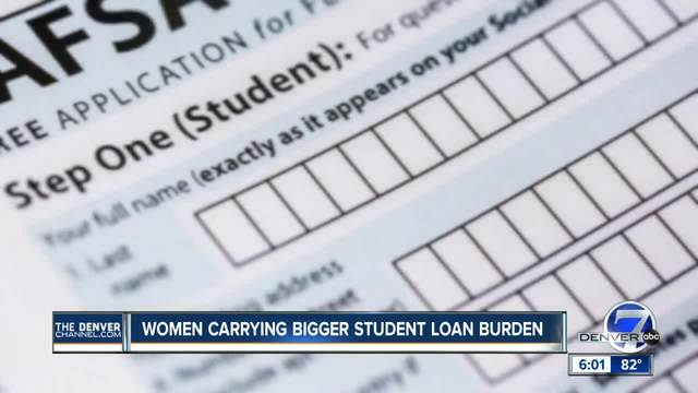 Women carrying bigger student loan burden