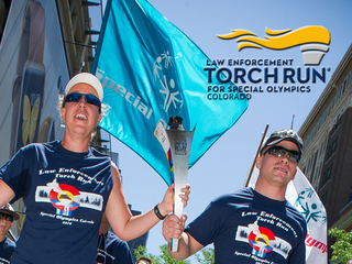 Cops from across Colorado take part in torch run