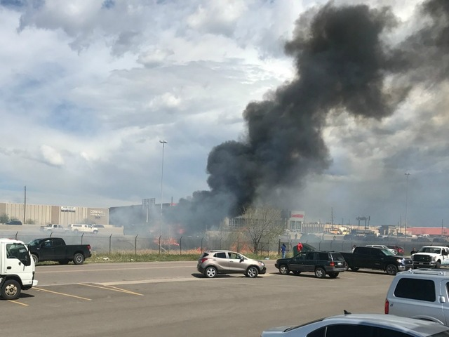 Witnesses jump into action after fiery crash on I-25