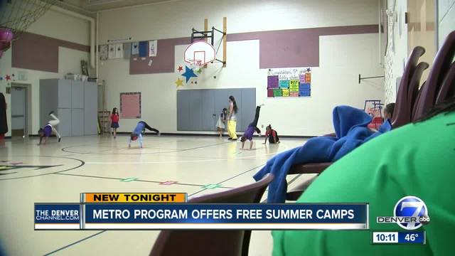 Metro program offers free summer camps