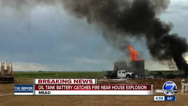 One dead, three injured in Anadarko oil tank explosion in Weld County