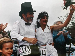BolderBOULDER's first couple 25 years later