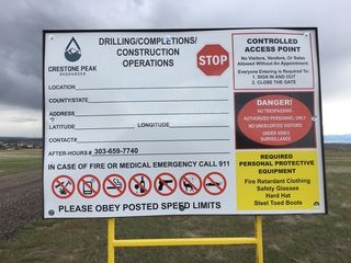 Drilling site odors cause 'burning sensations'