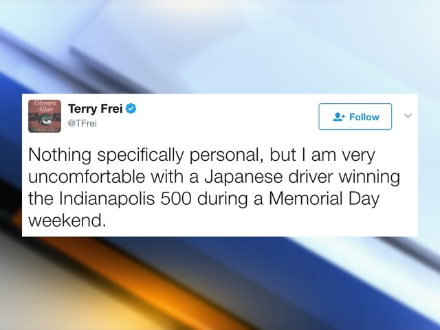 Denver Post sportswriter issues apology after facing backlash for Indy 500 tweet