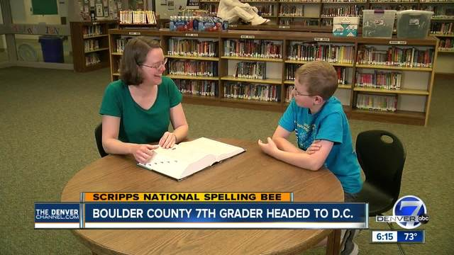 Edmond student reaches second day of national spelling bee