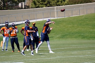 Paxton Lynch enjoys 'great day' of practice