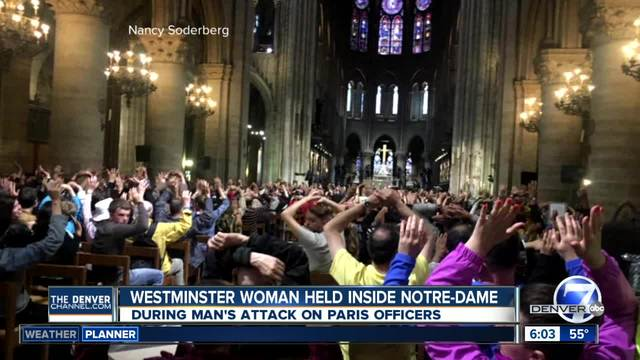 Video emerges of Notre Dame 'terrorist' hammer attack