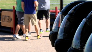 Go-kart racing for heroes and victims of DUI