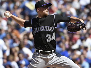 Rockies win 7th straight game, beat Cubs 9-1