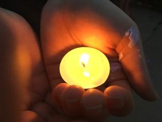 Candlelight vigil held for Kiaya Campbell