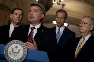 Sen. Gardner hasn't seen Senate health care bill