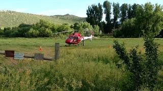 2 teens rescued tubing in Larimer County