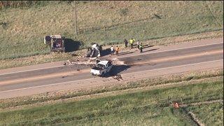 Crash closes Highway 52 near County Line Road