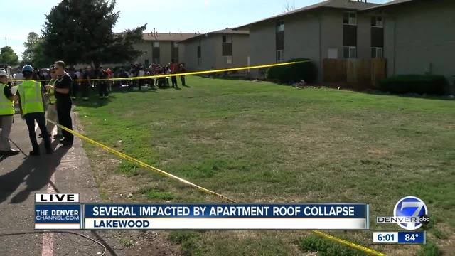 Red Cross provides shelter after roof collapse impacts 56 in Lakewood