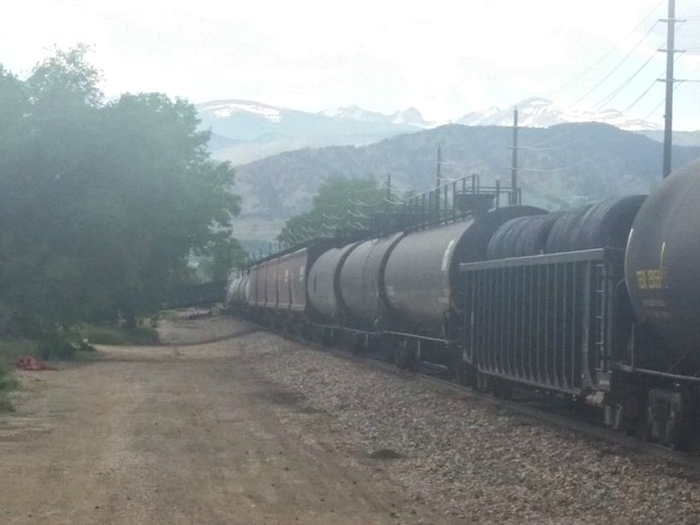 Train Car Filled With Plastic Beads Derails In Colorado