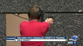 School faculty members prepare to shoot back