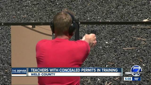 Teachers with concealed permits in training