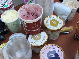 Popular ice cream is low in calories
