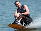 Adaptations help athletes water ski, wakeboard