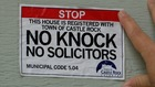 No knock, no soliciting signs allow 'opt-out'