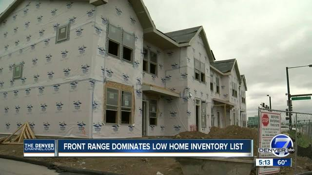 Denver- Seattle tied for lowest real estate inventory in US