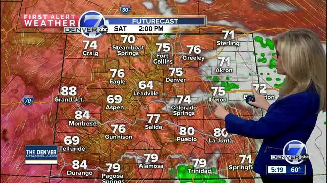 More sunshine and 70s this weekend