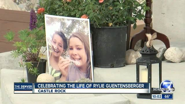 Celebration of Life held for Rylie Guentensberger in Castle Rock