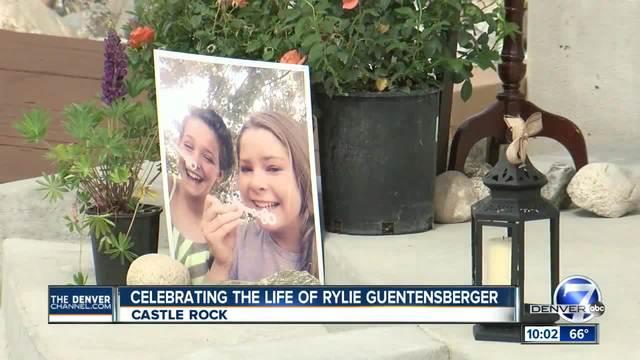 Celebration of Life held for Rylie Guentensberger in Castle Rock
