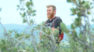 Man hiking all 14ers in Colorado