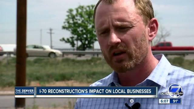 Businesses to be impacted by I-70 reconstruction project