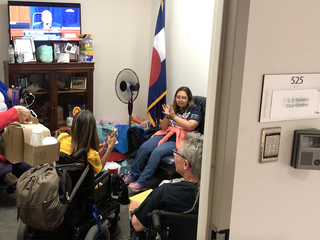 Health care sit-in continues at Gardner's office