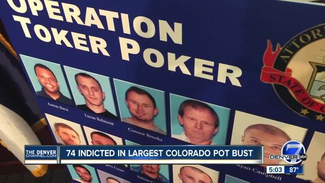 AG- 74 indictments in largest illicit pot bust in Colorado history- 2…
