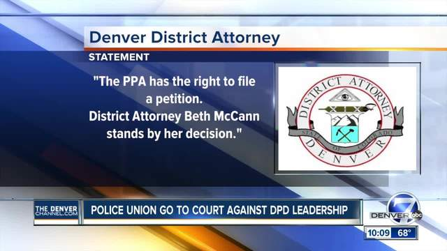 Union wants judge to force charges against DPD chief- deputy chief