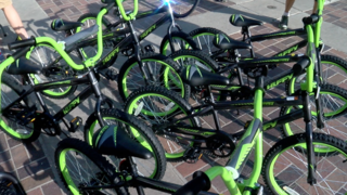 25 kids get bikes through special program