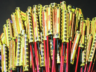 Illegal fireworks crack down amid fire danger