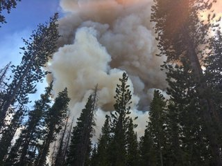 Peak 2 Fire human-caused, police search for 2