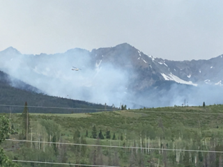 Peak 2 Fire: 84 acres, 25 percent contained