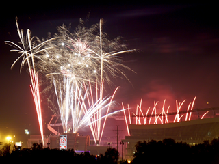 Did you miss the fireworks? Here are the photos