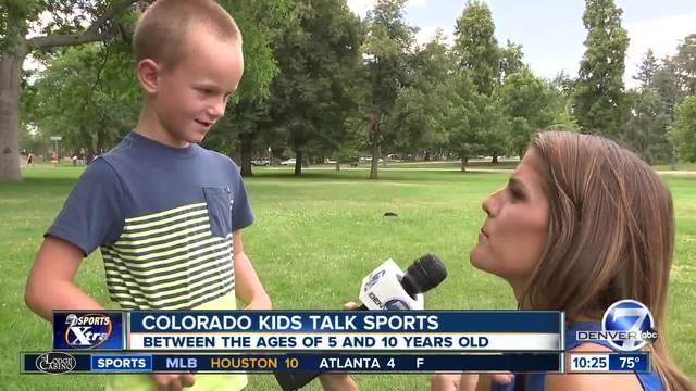 Colorado Kids Talk Sports - Rockies