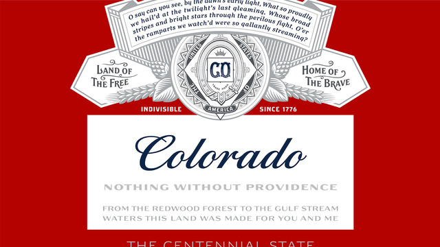 Budweiser unveils new 'Colorado' bottles
