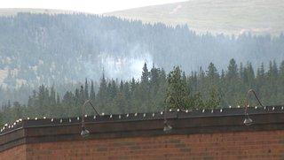 Second fire breaks out near Peak 2 Fire